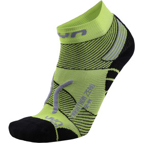 UYN Run Marathon Zero Calcetines Hombre, green lime/black